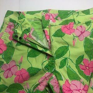 Lilly Pulitzer Pants - Lilly Pulitzer RARE Mandevilla Cropped Capris 4